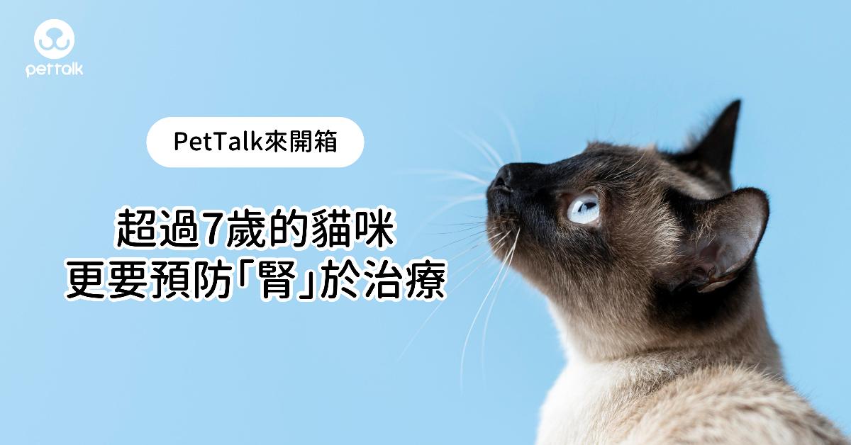 【PetTalk來開箱】超過7歲的貓咪,更要預防「腎」於治療|專業獸醫—楊孝柏